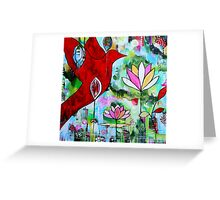 Flight of Colour  Greeting Card