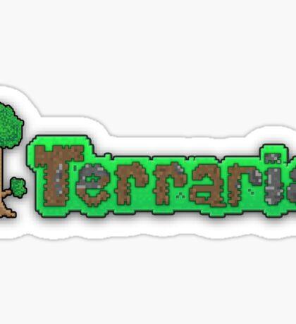 Terraria Logo Sticker