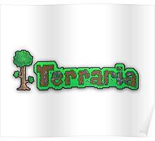 Terraria Logo Poster