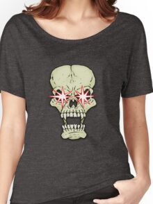 Sparkly-eyed skull Women's Relaxed Fit T-Shirt