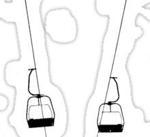 Ski Lifts Sticker