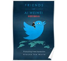 Friends of Ai Weiwei  Poster