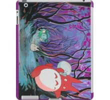 Red Totoro iPad Case/Skin