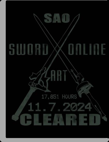 SAO Cleared  by EpcotServo