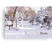 Peaceful Wonderland Canvas Print
