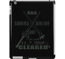 SAO Cleared  iPad Case/Skin
