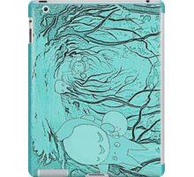 Monochrome Totoro iPad Case/Skin