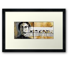 Unspoken Words Framed Print