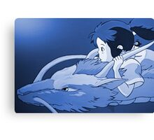 Haku as dragon Canvas Print