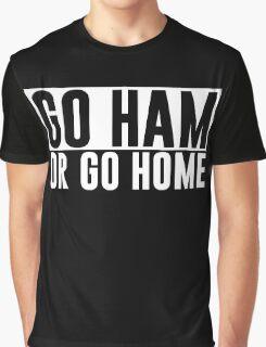 Go Ham or Go Home #1 (Dark BG) Graphic T-Shirt