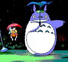 Totoro mix up! by Hannah Davidson