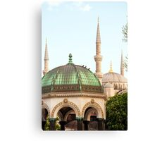 Sultanahmet District Canvas Print