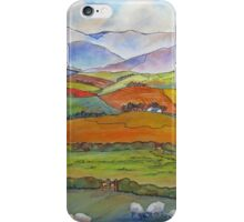North Yorkshire Quilt iPhone Case/Skin