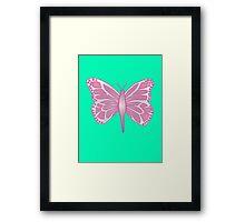 Butterfly Barbie Framed Print