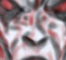 Slender man the face of hell  Sticker