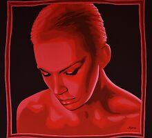 Annie Lennox painting by PaulMeijering