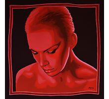 Annie Lennox painting Photographic Print