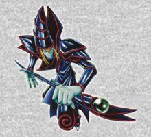 Dark Magician Render (1) - Yugioh! Kids Clothes