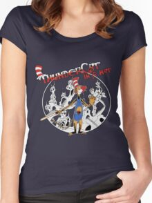 Thundercat in a Hat! Women's Fitted Scoop T-Shirt