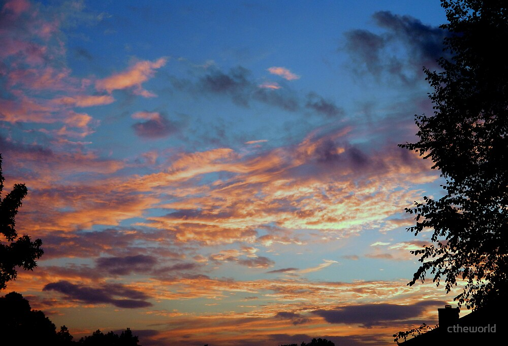 Skyscape -4    ^ by ctheworld