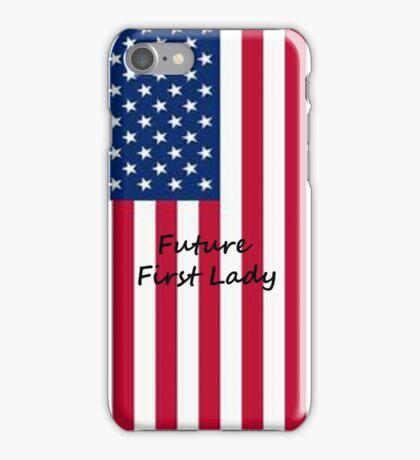 Future First Lady iPhone Case/Skin