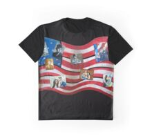 Family and Freedom Graphic T-Shirt