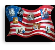Family and Freedom Canvas Print