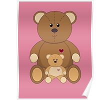 TWO TEDDY BEARS #3 Poster
