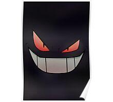Dark Gengar - Minimal Pokemon Art Poster Poster