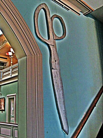 Scissors Anyone? by Jane Neill-Hancock