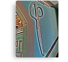 Scissors Anyone? Canvas Print