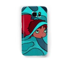 Ponyo - Hiding in a jellyfish! Samsung Galaxy Case/Skin