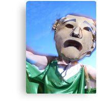 Masked Man Canvas Print
