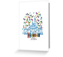 Happiest Place on Earth - Vintage Castle Greeting Card