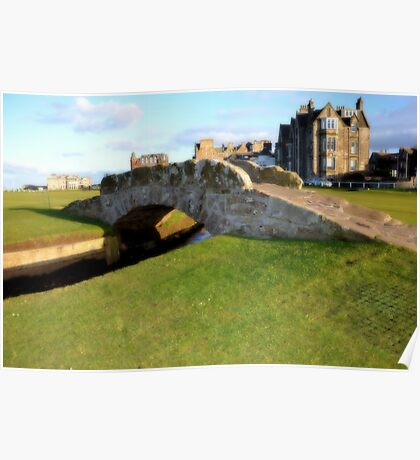 St Andrews Scotland Poster