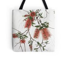 Red Bottlebrush - Callistemon viminalis Tote Bag