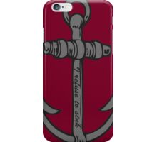 I Refuse to Sink iPhone Case/Skin