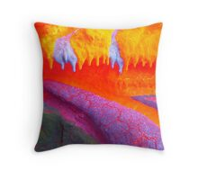 Fluorescent Fun Throw Pillow
