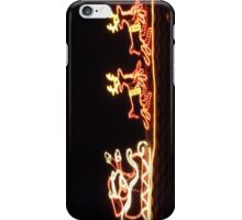 Santa On The Roof iPhone Case/Skin