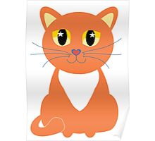 Only Orange Marmalade Cat Poster