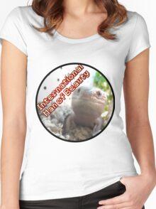 International Man of Beauty Women's Fitted Scoop T-Shirt
