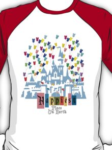 Happiest Place on Earth - Vintage Castle T-Shirt