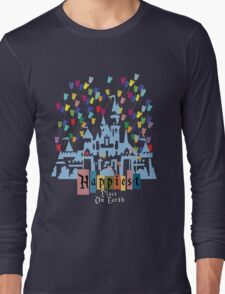 Happiest Place on Earth - Vintage Castle Long Sleeve T-Shirt