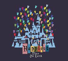 Happiest Place on Earth - Vintage Castle Unisex T-Shirt