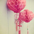 Chinese Lanterns II by Sybille Sterk