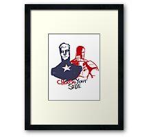Captain America Civil War  Framed Print
