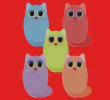 CAT FIVE POSE Kids Clothes