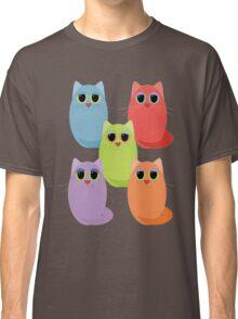 CAT FIVE POSE Classic T-Shirt