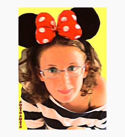 YOU ARE BEAUTIFUL ...MINNIE Photographic Print