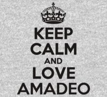 Keep Calm and Love AMADEO Kids Clothes